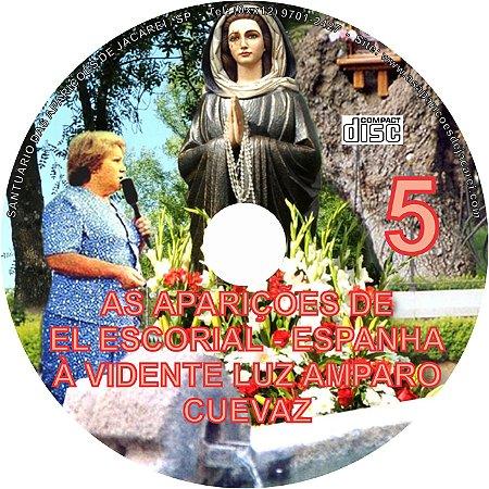 CD AS APARIÇÕES DE EL ESCORIAL - ESPANHA À VIDENTE LUZ AMPARO CUEVAZ 05