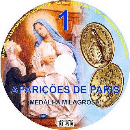 CD APARIÇÕES DE PARIS 01  ( MEDALHA MILAGROSA )