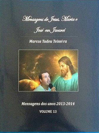 LIVRO DE MENSAGENS- VOLUME 13- ANOS 2013 - 2014
