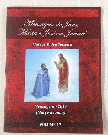 LIVRO DE MENSAGENS- VOLUME 17 (MARÇO A JUNHO -2014)