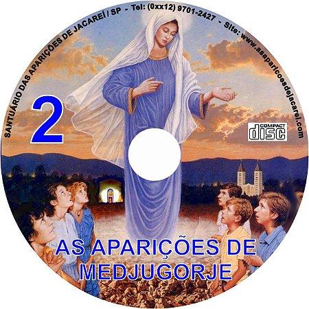 CD AS APARIÇÕES DE MEDJUGORJE 2