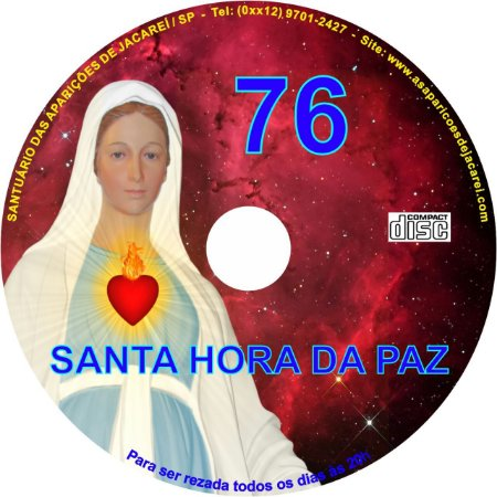 CD SANTA HORA DA PAZ 076
