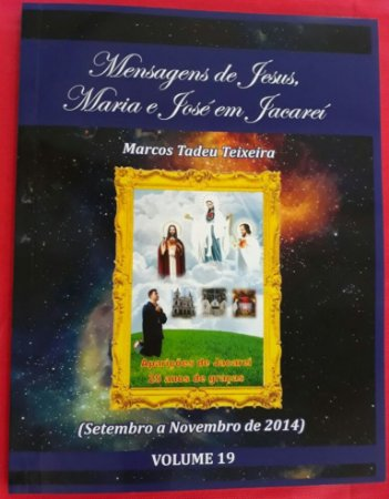 LIVRO DE MENSAGENS - VOLUME  19 ( SETEMBRO A NOVEMBRO DE 2014)