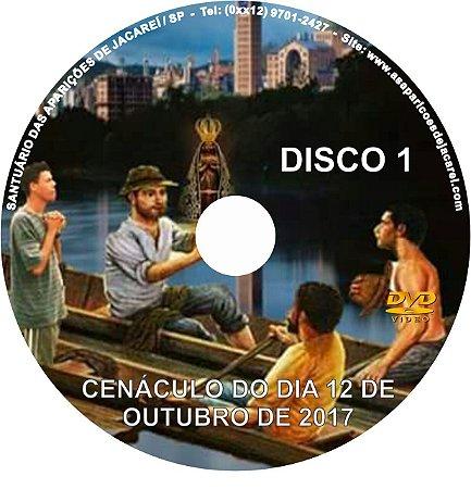 COLETÂNEA 2 DVDS-  CENÁCULO DE NOSSA SENHORA APARECIDA (12/10/2017)