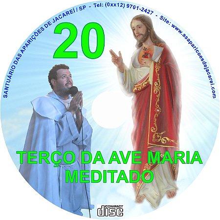 CD TERÇO DE AVE MARIA MEDITADO 20