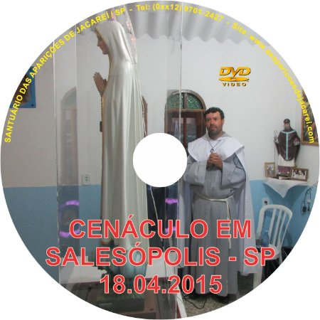 DVD- CENÁCULO EM SALESÓPOLIS-SP (18.04.2015)