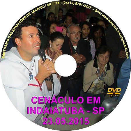 DVD- CENÁCULO EM INDAIATUBA-SP (30.05.2015)