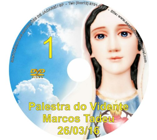 DVD 001-PALESTRA DO VIDENTE MARCOS TADEU 26/03/16
