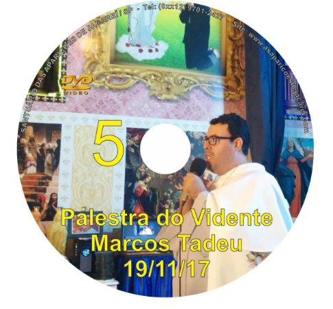 DVD 005-PALESTRA DO VIDENTE MARCOS TADEU 19/11/17