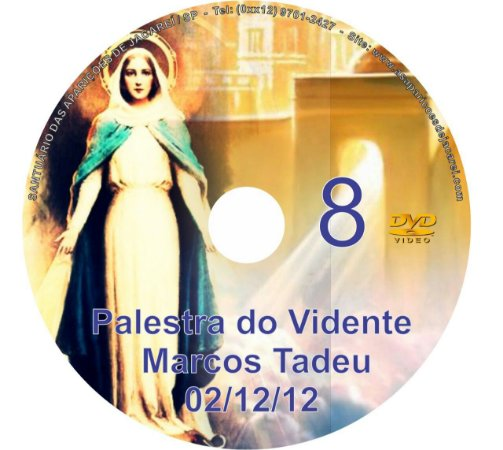 DVD 008-PALESTRA DO VIDENTE MARCOS TADEU 02/12/12