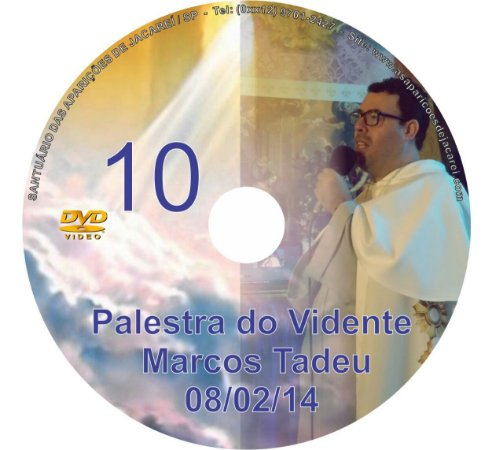 DVD 010-PALESTRA DO VIDENTE MARCOS TADEU 08/02/14