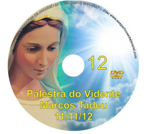 DVD 012-PALESTRA DO VIDENTE MARCOS TADEU 11/11/12