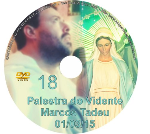 DVD 018-PALESTRA DO VIDENTE MARCOS TADEU 01/03/15