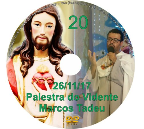 DVD 020- PALESTRA DO VIDENTE MARCOS TADEU 26/11/17