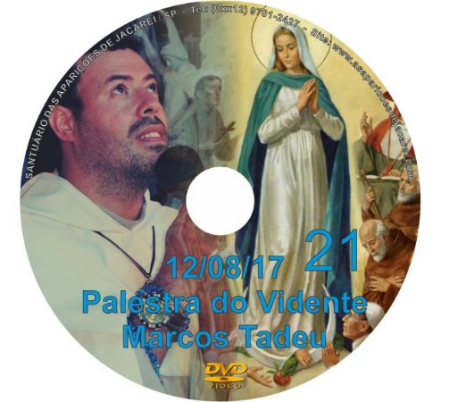 DVD 021- PALESTRA DO VIDENTE MARCOS TADEU 12/08/17