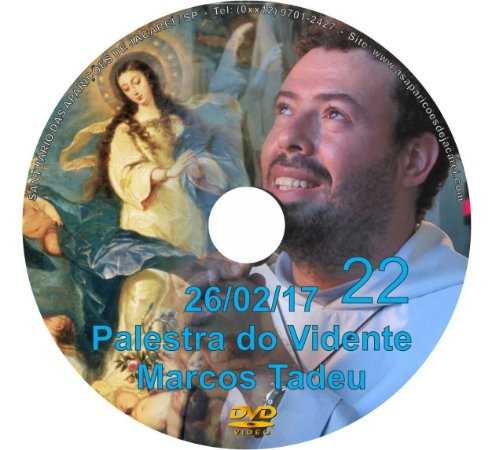 DVD 022- PALESTRA DO VIDENTE MARCOS TADEU 26/02/17