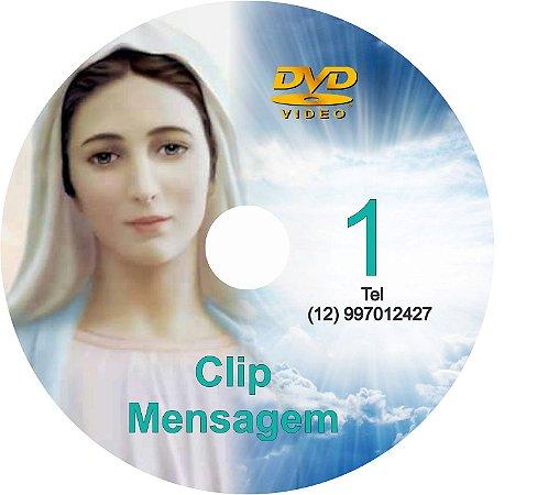 DVD CLIPS DE MENSAGENS DE NOSSA SENHORA 1