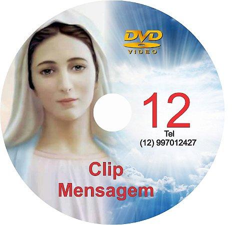 DVD CLIPS DE MENSAGENS DE NOSSA SENHORA 12