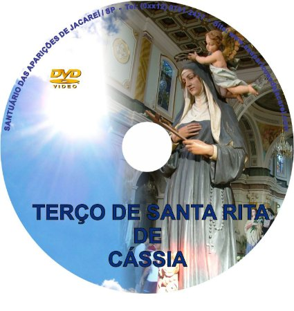 DVD TERÇO DE SANTA RITA