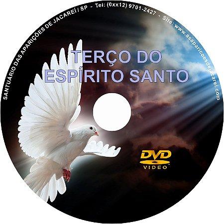 DVD TERÇO DO ESPÍRITO SANTO