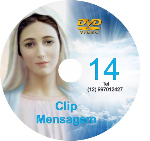 DVD CLIP DE MENSAGENS DE NOSSA SENHORA 14