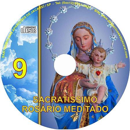SACRATÍSSIMO ROSÁRIO MEDITADO 009