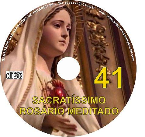 SACRATÍSSIMO ROSÁRIO MEDITADO 041