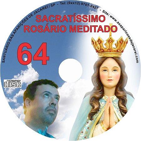 SACRATÍSSIMO ROSÁRIO MEDITADO 064
