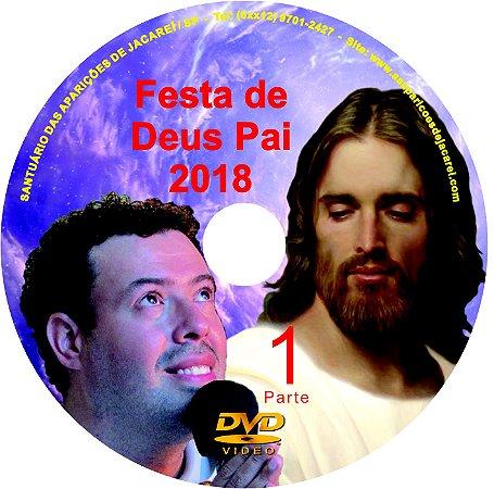 DVD'S FESTA DE DEUS PAI 2018
