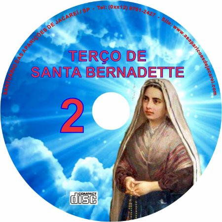 TERÇO DE SANTA BERNADETTE 2