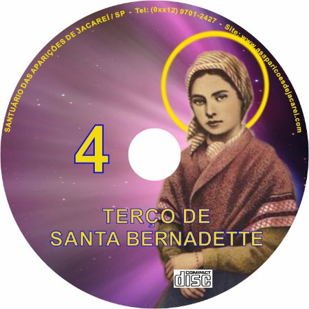 TERÇO DE SANTA BERNADETTE 4