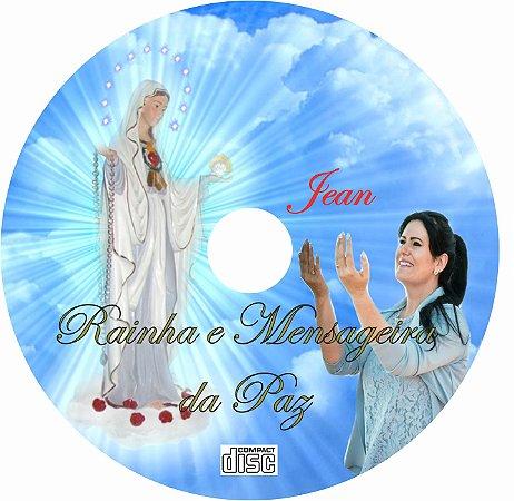 CD MÚSICA RAINHA E MENSAGEIRA DA PAZ - JEAN