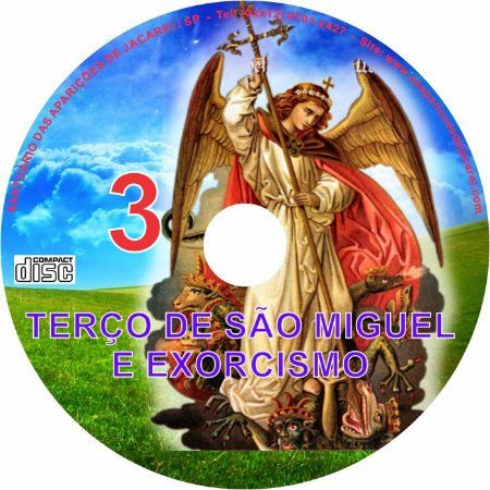 CD TERÇO DE SÃO MIGUEL E EXORCISMO - 3