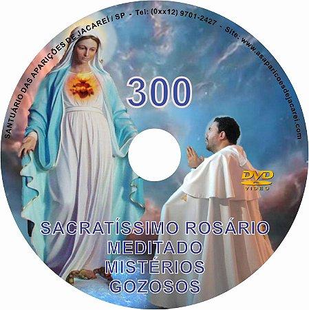DVD ROSÁRIO MEDITADO 300 MISTÉRIOS GOZOSOS