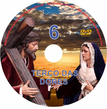 DVD TERÇO DAS DORES 6