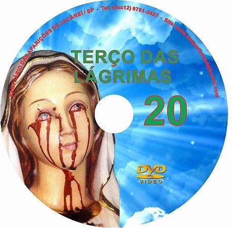 DVD TERÇO DAS LAGRIMAS 20