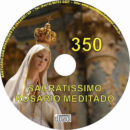 CD ROSÁRIO MEDITADO 350