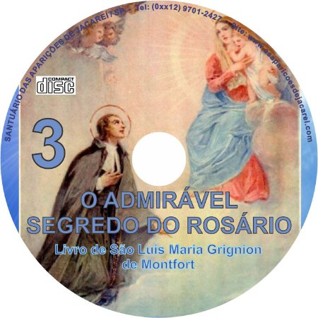 CD O ADMIRAVEL SEGREDO DO ROSÁRIO 3