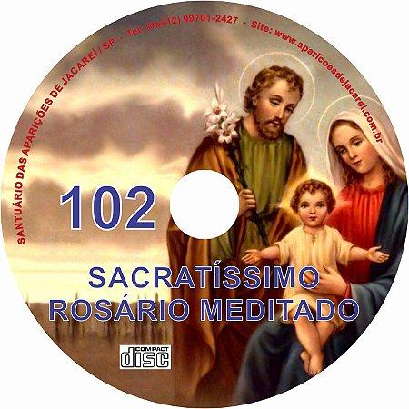 CD ROSÁRIO MEDITADO 102