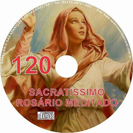 CD ROSÁRIO MEDITADO 120