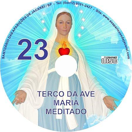 CD TERÇO DA AVE MARIA MEDITADO 23