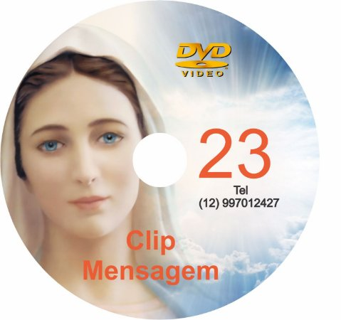 DVD CLIP DE MENSAGENS DE NOSSA SENHORA 23