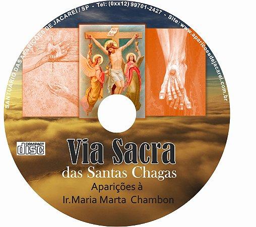 CD VIA SACRA DAS SANTA CHAGAS