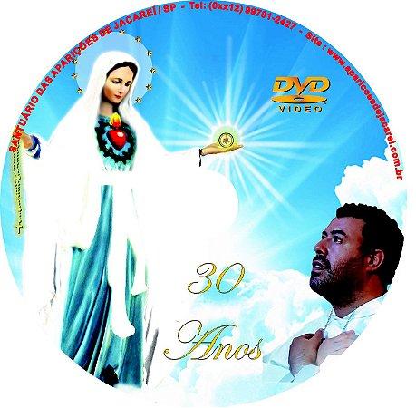 DVD CLIP DOS 30 ANOS DAS APARIÇÕES DE JACAREÍ
