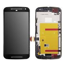 Tela Touch Display Lcd Frontal Moto G2 com aro
