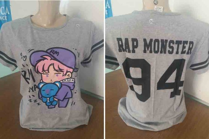 CAMISETA BABY LOOK K POPS