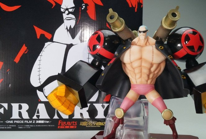 ACTION FIGURE FRANKY UN