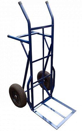 Carro armazém 400 kg om rodas pneumáticas Joaquinzão