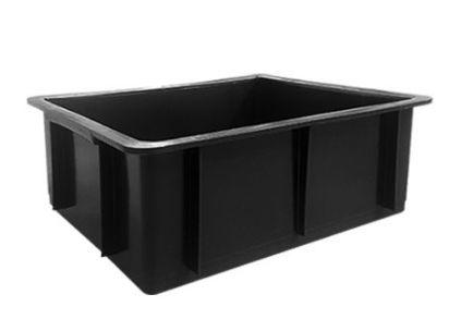 Caixa Pástica 15 Litros preta
