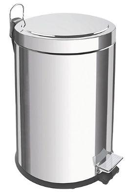 Lixeira Inox com Pedal Tramontina 5 litros